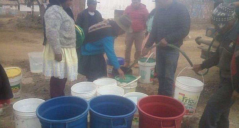 Manantial se seca y deja sin agua a más de 600 personas