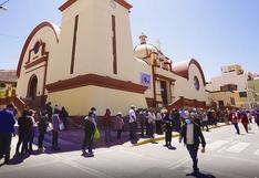 Flexibilizan restricciones en el Santuario del Señor de Locumba