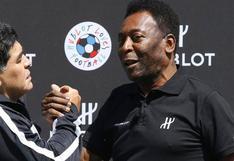 """Pelé dedicó un mensaje a Maradona: """"Siempre serás un gran amigo, con un corazón aún más grande"""""""