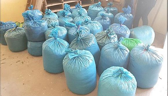 Incautan 251 kilos de hoja de coca en la vía San Antón - Azángaro
