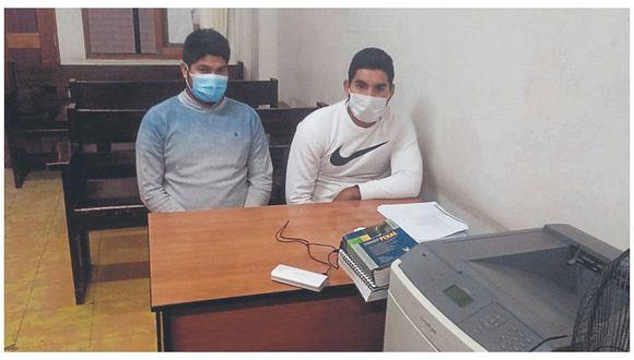 Envían al penal de Chiclayo a policías por robo de 135 mil soles