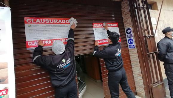 Las panaderías fueron multadas con una Unidad Impositiva Tributaria (UIT). (Foto: Municipalidad de Lince)