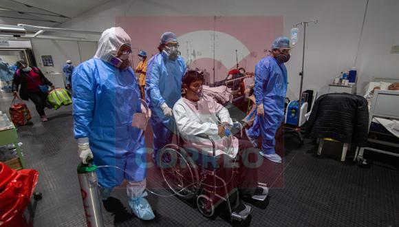 Hospitales ya no tienen camas disponibles para pacientes| Foto: Leonardo Cuito