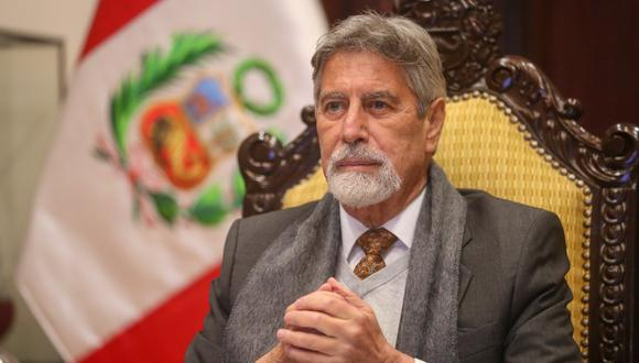 El presidente Francisco Sagasti dio su último mensaje a la Nación este martes. (Foto: Presidencia Perú)