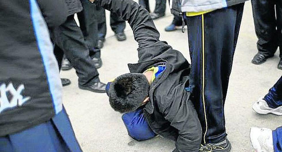 Bullying: cortan en la rodilla a escolar de 12 años en Arequipa