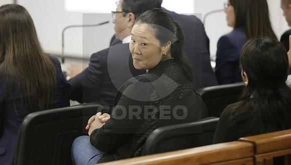 Keiko Fujimori: Resolución sobre apelación por su detención se emitirá esta noche (VIDEO)