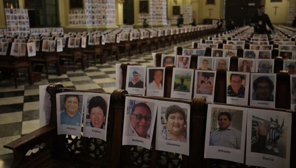 La cifra de fallecidos por coronavirus en el Perú aumentó este miércoles. Foto: Anthony Niño de Guzman / GEC