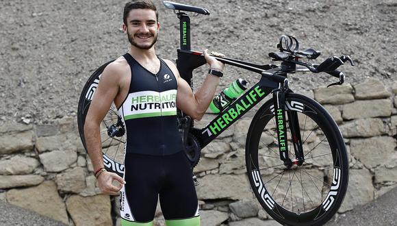 Triatleta peruano Andrés Chirinos va por la clasificación al Mundial Ironman 70.3