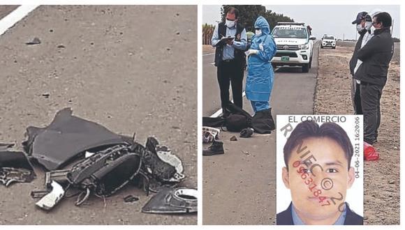 Víctima se dirigía a laborar y fue embestido por automóvil, cuyo chofer lejos de auxiliarlo se dio a la fuga con rumbo desconocido.