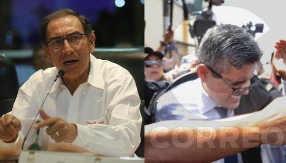 Martín Vizcarra rechaza agresión que sufrió el fiscal José Domingo Pérez por parte de fujimoristas (VIDEO)