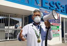 Médicos de EsSalud de Moquegua acatan paro nacional