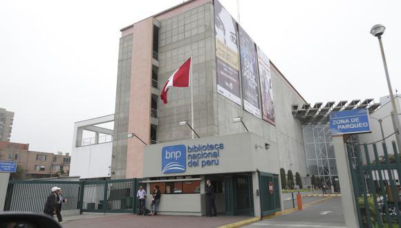 El programa de charlas virtuales es impulsado por la Biblioteca Nacional del Perú. (Foto: GEC/Anthony Niño de Guzmán)
