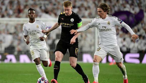 Real Madrid vs. Manchester City se enfrentarán en la revancha por la Champions League. (Foto: AFP)