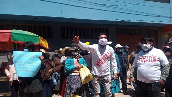 Usuarios piden destitución de funcionarios de Electro Puno