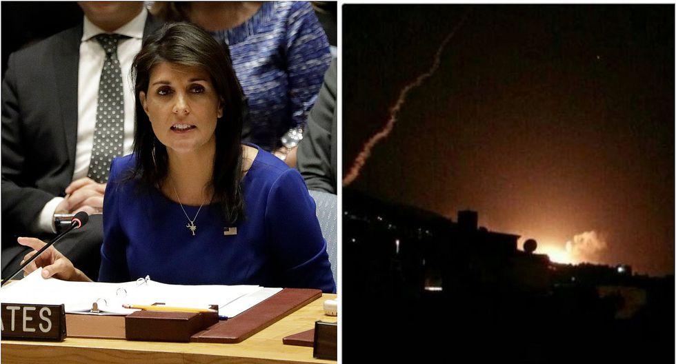 EE.UU. advierte en la ONU posible nuevo ataque contra Siria