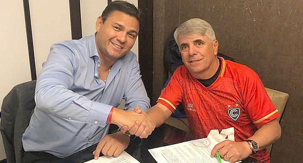 Marcelo Grioni ya firmó por Cienciano y se queda para la Primera División 2020 (FOTOS)