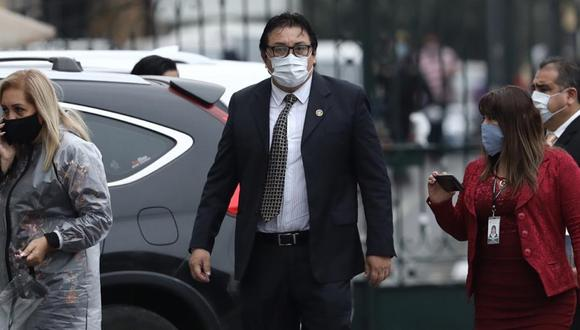 El cantautor es investigado por este grupo de trabajo por sus contrataciones con el Estado indicó que esta comisión se está utilizando políticamente para perseguir al presidente Martín Vizcarra.  (Foto: Joel Alonzo / GEC)