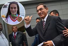 """Martín Vizcarra tras medalla de oro de Natalia Cuglievan: """"Eres orgullo peruano"""""""