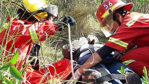 Bomberos de Huancavelica luchan contra el COVID-19