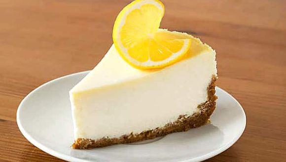 Conoce cómo preparar una tarta de limón con leche condensada
