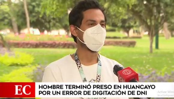 Félix Merino Curi pide al Poder Judicial que borre sus antecedentes penales que se generaron por error. (América Noticias)