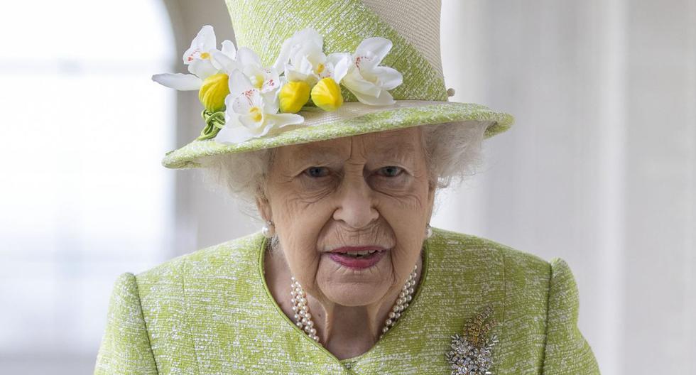 Imagen de la reina Isabel II. (Foto: AFP)