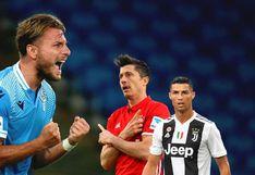 Ciro Immobile adelanta a Lewandowski y Cristiano como goleador de Europa (VIDEO)