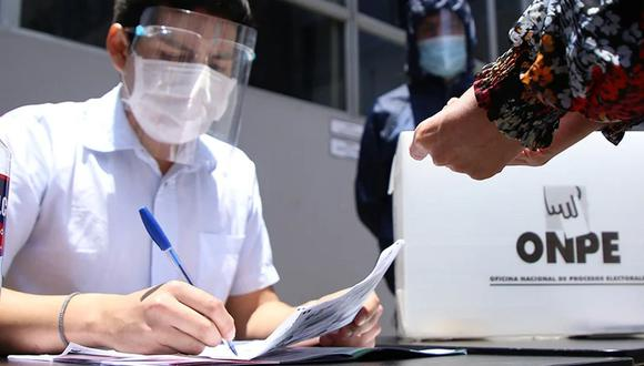 Elecciones Generales del Perú 2021. Foto: Onpe