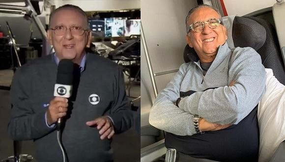 Relator brasileño que iba a narrar la final de la Copa Libertadores sufre infarto