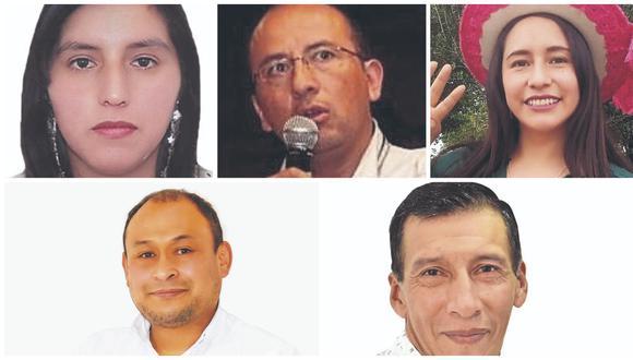 Candidatos por Frente Amplio