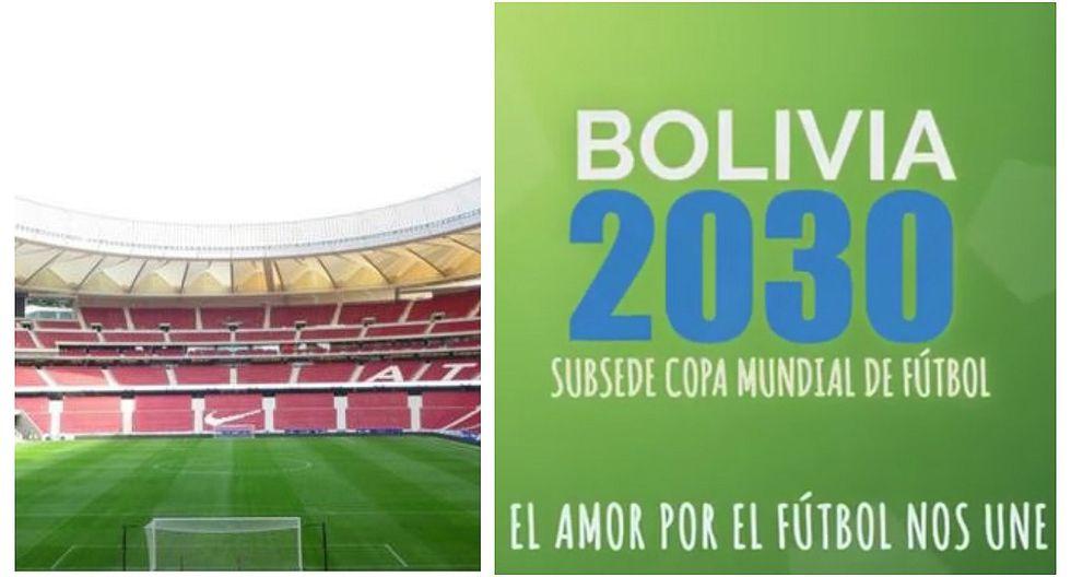 Bolivia promete construir estadios como el del Atlético de Madrid para ser subsede del Mundial 2030 (VIDEO)