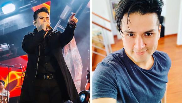 """El joven cantante Deyvis Orosco también se encuentra promocionando la nueva versión de la famosa canción """"Pecadora"""". (@deyvisorosco)."""