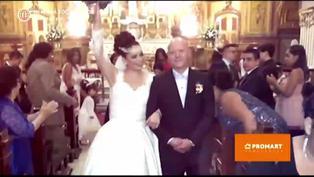 Leslie Moscoso presentó a su esposo y contó su historia de amor (VIDEO)