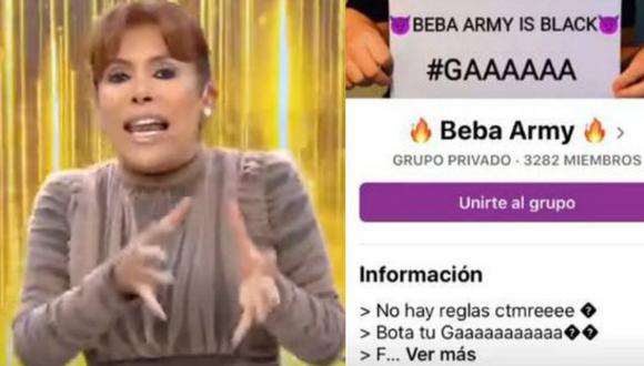 Magaly Medina y La Beba Army| TROME