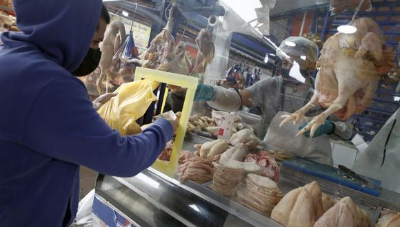Los precios de algunos productos de la canasta básica siguen en aumento en los mercados de la capital. (Foto: César Campos / GEC)