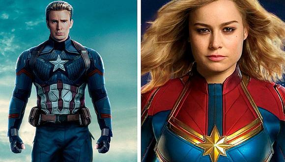 El mensaje que el Capitán América le ha dejado a Capitana Marvel y enloquece a sus fans (FOTOS)