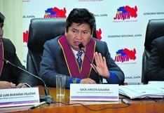 Junín: Consejero Saul Arcos viola neutralidad electoral y apoya abiertamente a Pedro Castillo