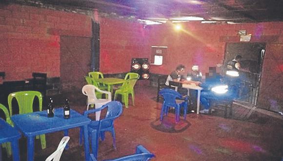 Intervienen bar donde se ejercía la prostitución en el distrito de Chongoyape
