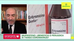 Sanamente: ¿El ibuprofeno agrava los síntomas de la COVID-19?