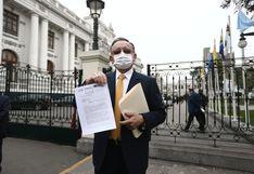 Congresista Edgar Alarcón pedirá que se prioricen las denuncias constitucionales en su contra