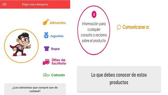 Lanzan aplicativo para aprender a leer etiquetas de los productos escolares