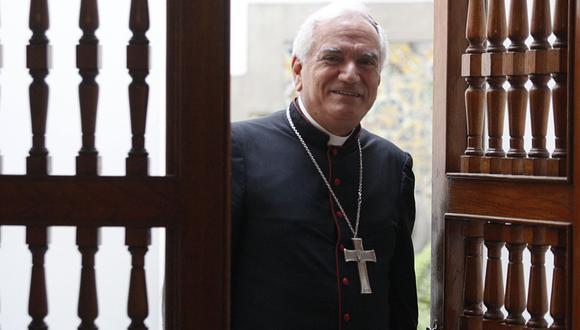 """Nuncio Apostólico asegura que fue convocado como """"consultor ético"""" del ensayo clínico. (Foto: Azobispado de Lima)"""