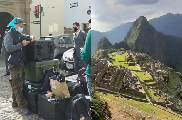 Transformers in Peru: More than 100 people arrived for the recordings in Cusco and Machu Picchu.  (Photo: GEC / Juan Sequeiros)
