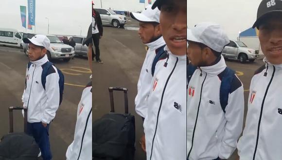 Atletas peruanos fueron abandonados a su suerte y denuncian mala coordinación para su recibimiento (VIDEO)