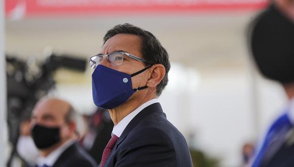 El presidente Martín Vizcarra. (Foto: Presidencia)