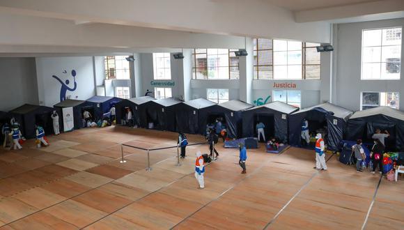 El polideportivo Guillermo Dansey cuenta con servicios higiénicos, duchas y lavaderos diferenciados para hombres, mujeres y niños. (Foto: Municipalidad de Lima)