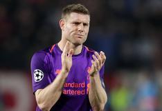 """James Milner en contra de la creación de la Superliga europea: """"No me gusta y espero que no ocurra"""""""