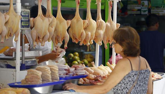 ¿Dejará de subir el precio del pollo? (Foto: GEC)