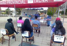 Tacna: Vacunarán a universitarios menores de edad este lunes y martes