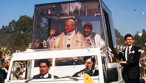 Papamóvil de Juan Pablo II formará parte de una muestra de autos en Argentina [FOTO]